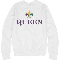 Matching Queen King Mardi Gras 1