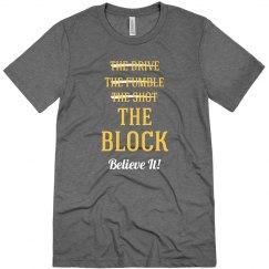 Cleveland Win Wine & Gold Block