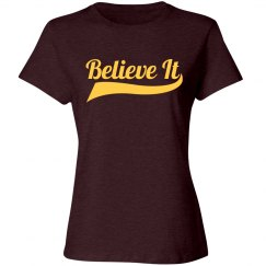 Believe It Cleveland Win Shirt