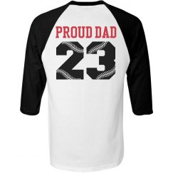 Proud Baseball Dad Shirt You Can Customize