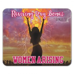 WOMEN ARISING MOUSEPAD