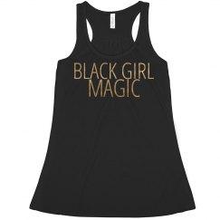 BLACK GIRL MAGIC (GOLD)