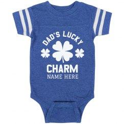 Dad's Custom Lucky Charm