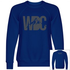 WDC crewneck Blue
