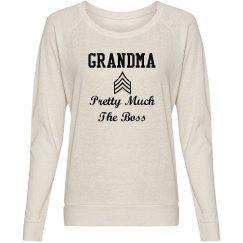 Grandma the boss