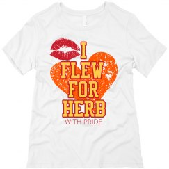 I flew for herb