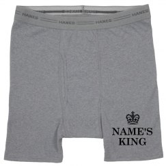 Custom Name's King Crown