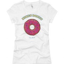 Hot Dog/Donut Couples Tee