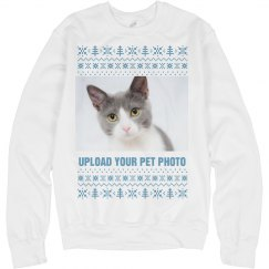 Upload Your Pet Photo Ugly Sweater