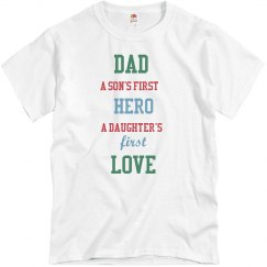 Dad a Son's First Love