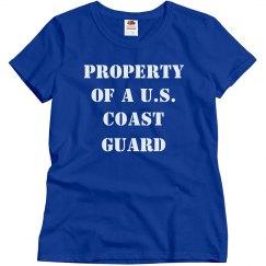 Property Of A US Coast Guard
