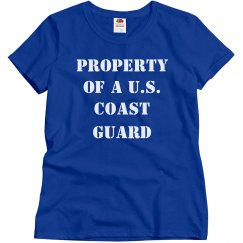 Property Of A US Coast Guard