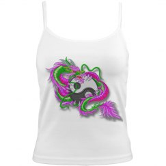 Yin and Yang Vibrant Dragon
