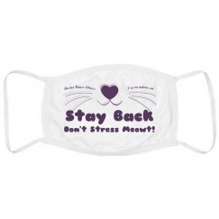 Don't Stress Meowt! Mask
