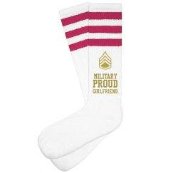 Army Girlfriend Socks