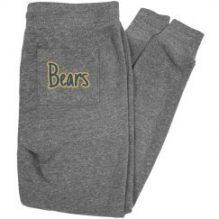 Bears on rear pocket joggers