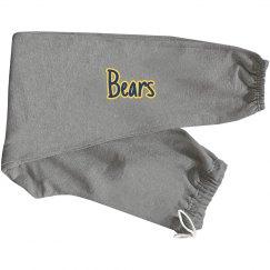 Bears on rear pocket joggers