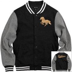 Central Lee stallions men's jacket.