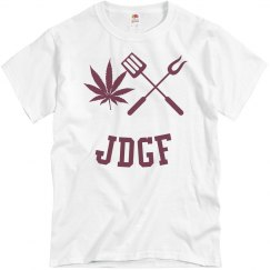 JDGF SHIRT maroon
