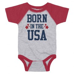 Born in the USA Fourth Onesie