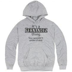 Its a Fernandez thing