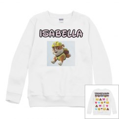 TheOutboundLiving Isabella Paw Patrol is Life Sweater