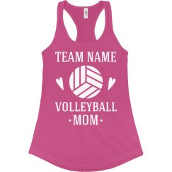 Volleyball Custom Mom Tank