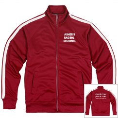 Asher's Racing Channel track jacket
