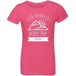 Custom Youth Family Road Trip Tee
