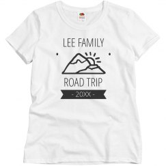 Custom Family Road Trip Tee