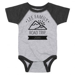 Custom Family Road Trip Onesie