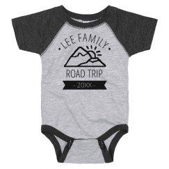 Custom Family Road Trip Onesie