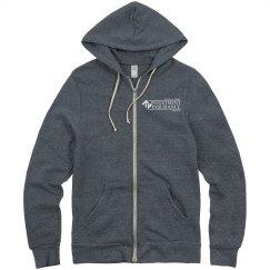 Unisex Eco-Fleece Rocky Full Zip Hoodie NAVY