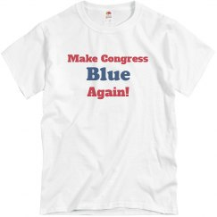 Unisex Make Congress Blue Again!
