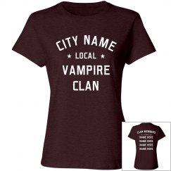 Custom Local Vampire Clan Design