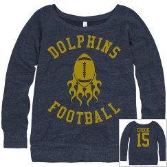 Hoover Hottie Football Sweatshirt
