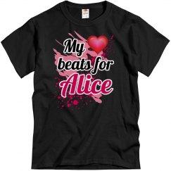My heart beats for Alice