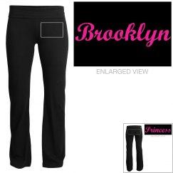 Brooklyn, yoga pants