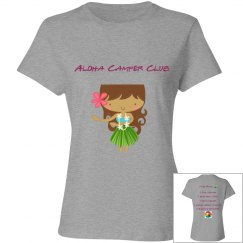 Aloha Camper Club Girls in Silver