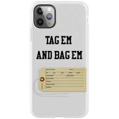 Toe tag IPhone 11 Max Pro Case