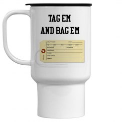 Toe Tag Travel Mug