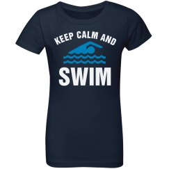 Keep calm and swim!