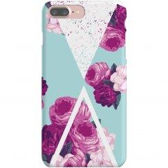 Geometric Floral Phone Case