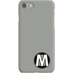 Custom M Monogrammed Case