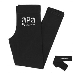 Girls APA Personalized Leggings