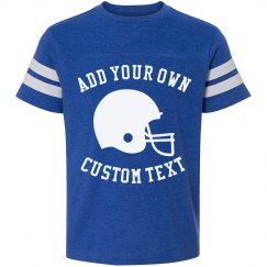 Create Your Own Custom Football Tee