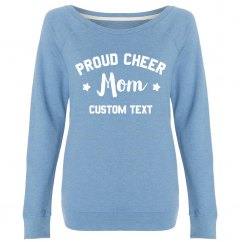 Custom I'm A Proud Cheer Mom