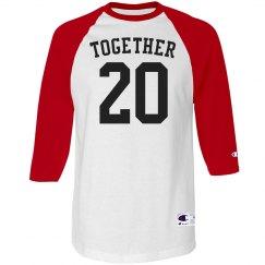 Together Baseball Tee