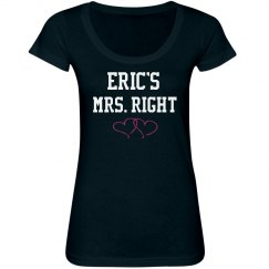 Eric's Mrs. Right