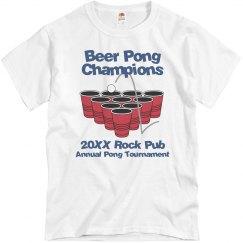 Pong Champion Tee